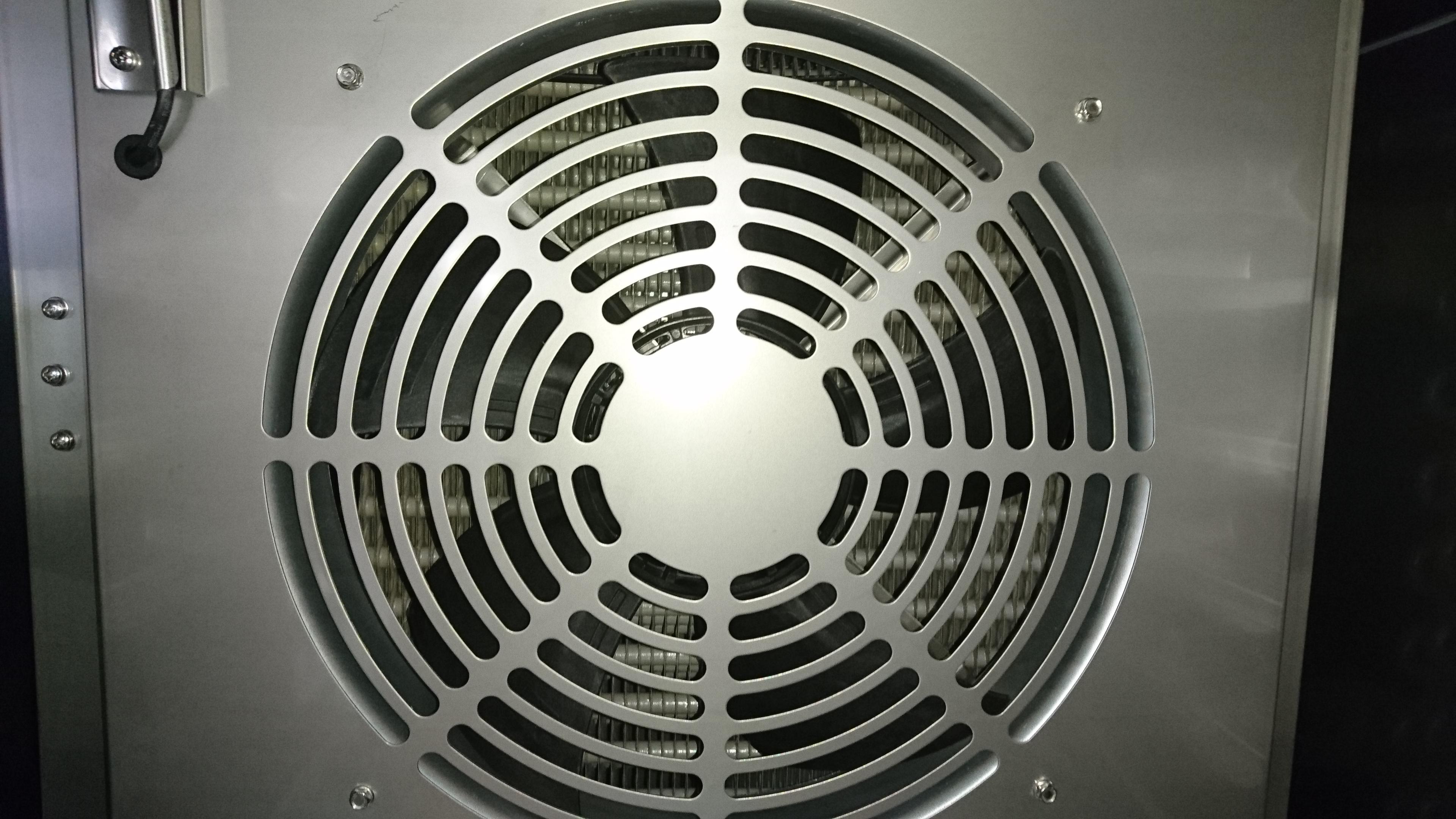 Вентилятор в аппарате шоковой заморозки